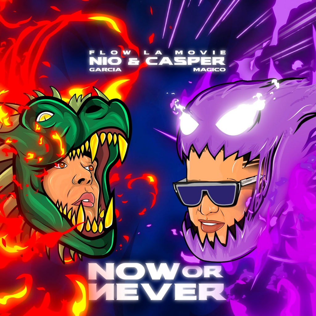 Nio García y Casper Mágico – Now or Never (Album) (2020)